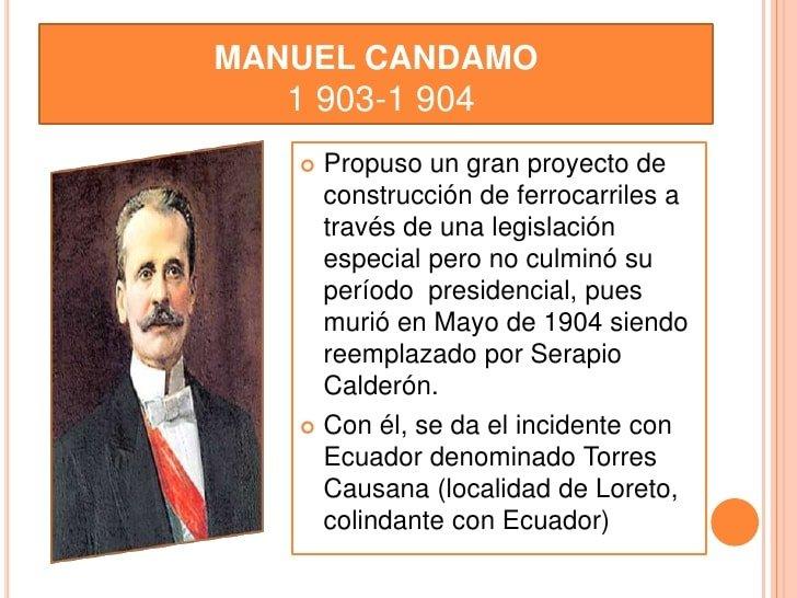 Manuel Candamo